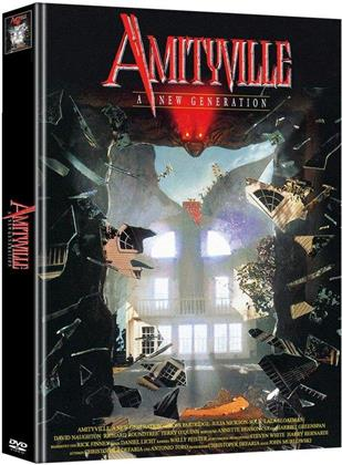 Amityville - A New Generation (1993) (Super Spooky Stories, Limited Edition, Mediabook, 2 DVDs)