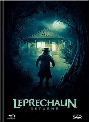 Leprechaun Returns (2018) (Cover A, Limited Edition, Mediabook, Blu-ray + DVD)