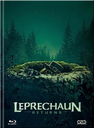 Leprechaun Returns (2018) (Cover B, Limited Edition, Mediabook, Blu-ray + DVD)