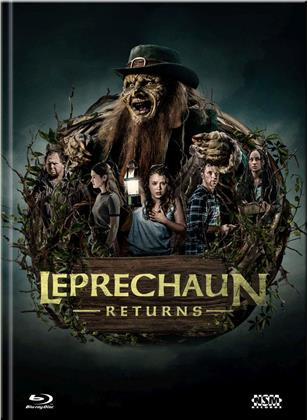 Leprechaun Returns (2018) (Cover D, Limited Edition, Mediabook, Blu-ray + DVD)