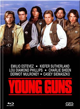 Young Guns (1988) (Cover A, Edizione Limitata, Mediabook, Blu-ray + DVD)