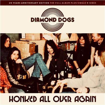 Diamond Dogs - Honked All Over Again (Blue Vinyl, LP)