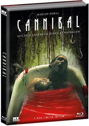 Cannibal - Aus dem Tagebuch eines Kannibalen (2006) (Wattiert, Limited Edition, Mediabook, Uncut, Blu-ray + DVD)