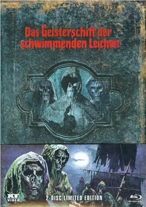 Das Geisterschiff der schwimmenden Leichen (1974) (Wattiert, Limited Edition, Mediabook, Uncut, Blu-ray + DVD)