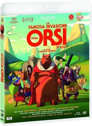 La famosa invasione degli orsi in Sicilia (2019) (Blu-ray + DVD)