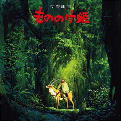 Joe Hisaishi - Princess Mononoke: Symphonic Suite (2020 Reissue, Limited, Papersleeve Limited Edition, Japan Edition, Remastered, LP)