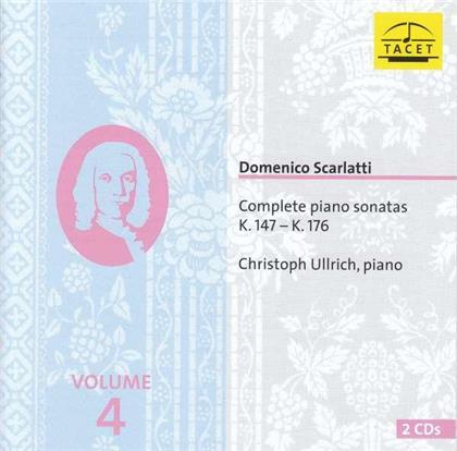Domenico Scarlatti (1685-1757) & Christoph Ullrich - Complete Piano Sonatas 4, k. 147 - K. 176
