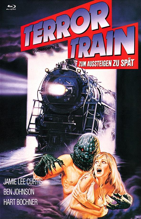 Terror Train - Zum Aussteigen zu spät - Todesparty 3 (1980) (Grosse Hartbox, Cover B, Limited Edition)