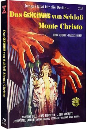 Das Geheimnis von Schloss Monte Christo (1970) (Cover A, Eurocult Collection, Edizione Limitata, Mediabook, Uncut, Blu-ray + DVD)