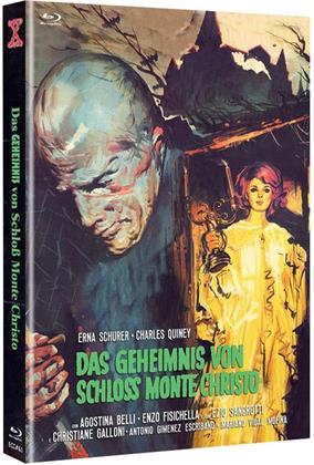 Das Geheimnis von Schloss Monte Christo (1970) (Cover B, Eurocult Collection, Edizione Limitata, Mediabook, Uncut, Blu-ray + DVD)