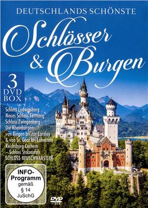 Deutschlands schönste Schlösser & Burgen - Neuschwanstein - Ludwisgsburg - Tettnang (3 DVDs)