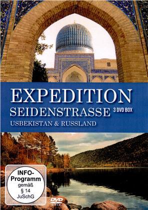 Expedition Seidenstrasse - Usbekistan & Russland (3 DVDs)