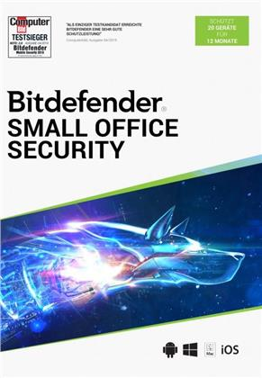Bitdefender Small Office Security 20 Geräte/12 Monate (Code in a Box)
