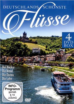 Deutschlands schönste Flüsse (4 DVDs)