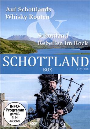 Schottland Box - Auf Schottlands Whisky Routen & Schottland - Rebellen im Rock (2 DVDs)