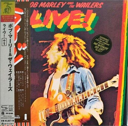 Bob Marley - Live (Mini LP Sleeve, 2020 Reissue, Japan Edition, Limited Edition, Remastered)
