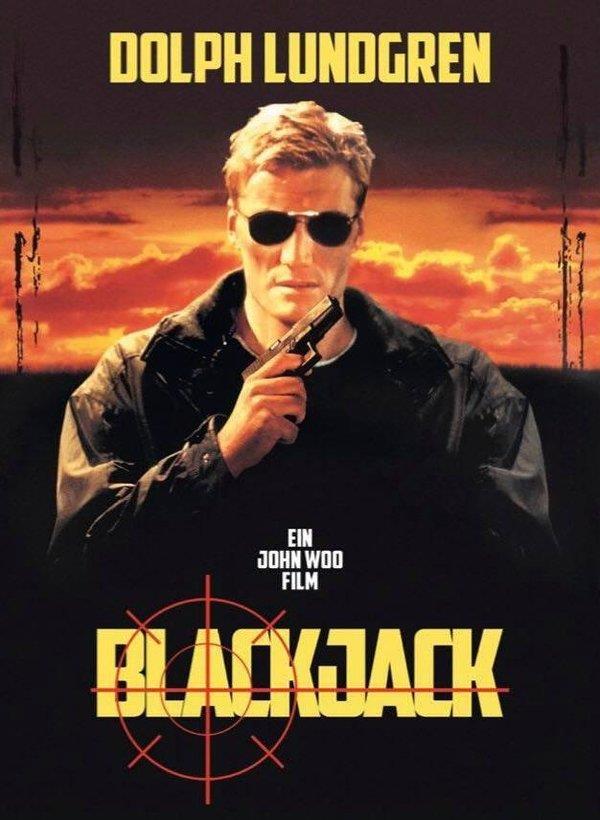 Blackjack - Der Bodyguard (1998) (Cover C, Limited Edition, Mediabook, Blu-ray + DVD)