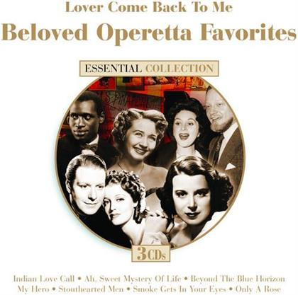 Nelson Eddy & Jean MaCDonald - Lover Comer Back To Me - Beloved Operetta Favorites