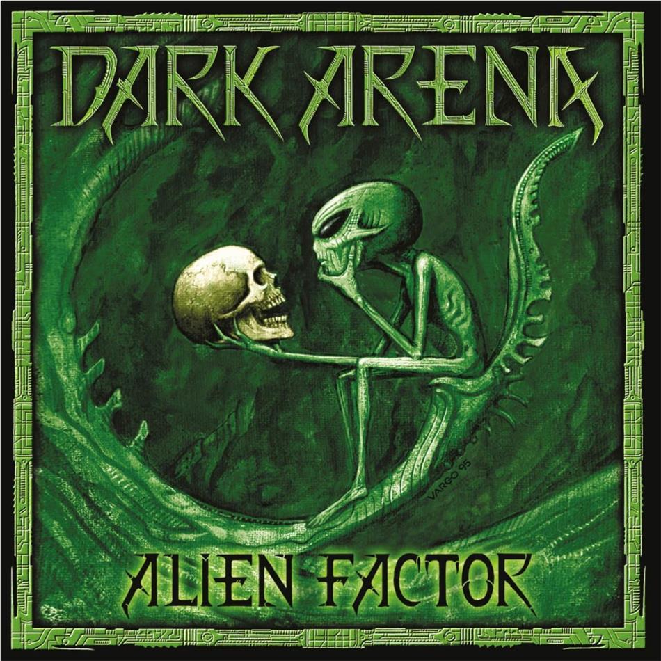 Dark Arena - Alien Factor (2020 Reissue, Pure Steel Records, Limited Edition, LP)
