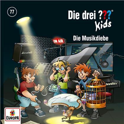 Die Drei ??? Kids - 077/Die Musikdiebe