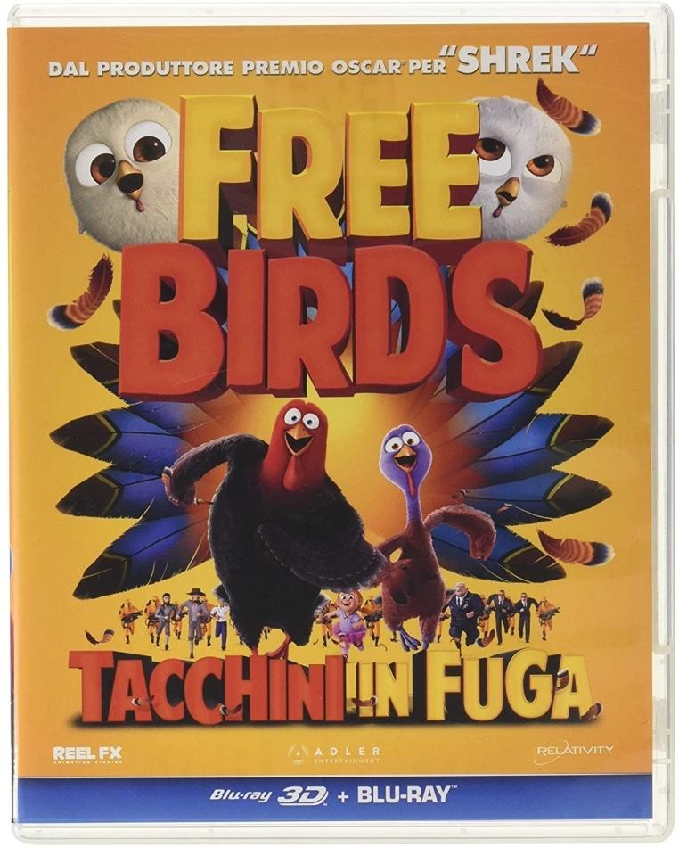 Free Birds - Tacchini in fuga (2013) (Blu-ray 3D + Blu-ray)