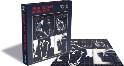The Rolling Stones: Emotional Rescue - 500 Piece Jigsaw Puzzle