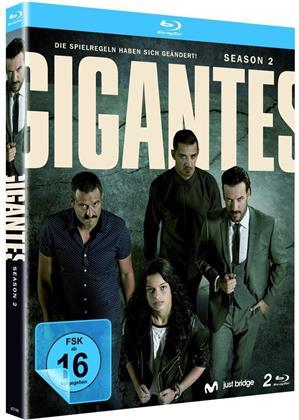 Gigantes - Staffel 2 (2 Blu-rays)