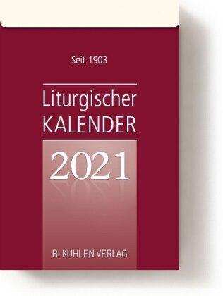 Liturgischer Kalender 2021. Tagesabreißkalender Block