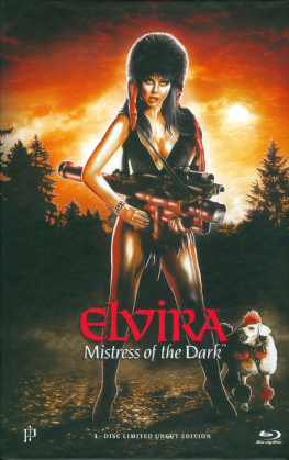 Elvira - Mistress of the Dark (1988) (Grosse Hartbox, Cover A, Limited Edition, Uncut)