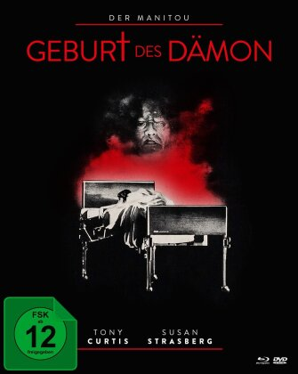 Der Manitou - Geburt des Dämon (1978) (Edizione Limitata, Mediabook, Blu-ray + DVD)