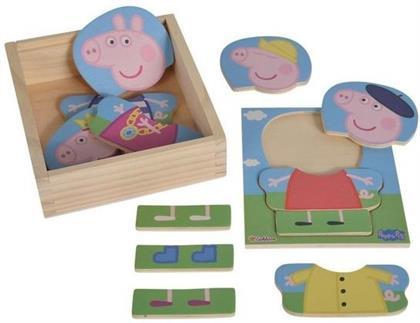 Peppa Pig - Umziehpuzzle 14-teilig
