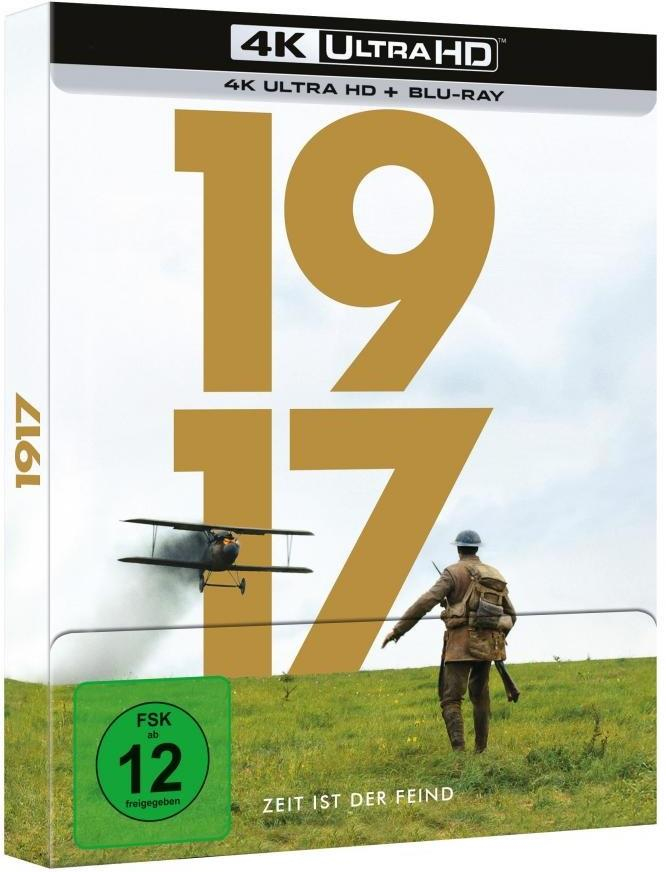 1917 (2019) (Digibook, Limited Edition, 4K Ultra HD + Blu-ray)