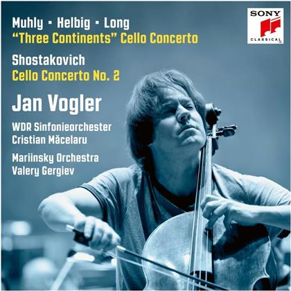 Nico Muhly, Sven Helbig, Zhou Long (*1953), Dimitri Schostakowitsch (1906-1975), Valery Gergiev, … - Three Continents / Cello Concerto 2