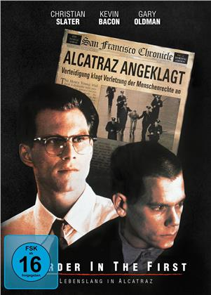Murder in the First - Lebenslang in Alcatraz (1995) (Mediabook, Edizione Speciale, Blu-ray + DVD)