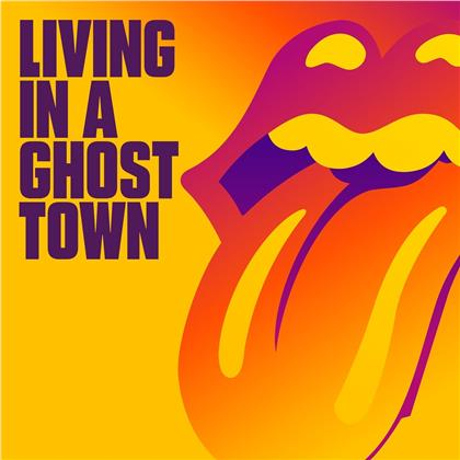 "The Rolling Stones - Living In A Ghost Town (One Sided Vinyl, Orange Vinyl, 10"" Maxi)"