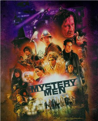 Mystery Men (1999) (Limited Edition, Steelbook, Blu-ray + DVD)