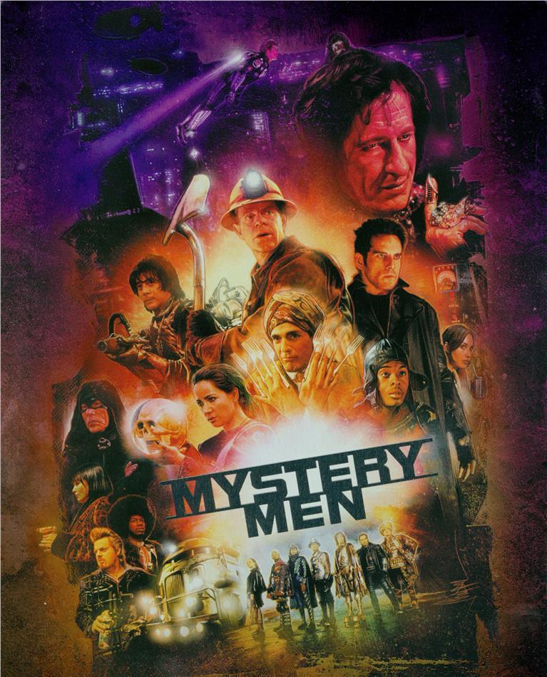 Mystery Men (1999) (Limited Edition, Steelbook, Blu-ray + DVD)