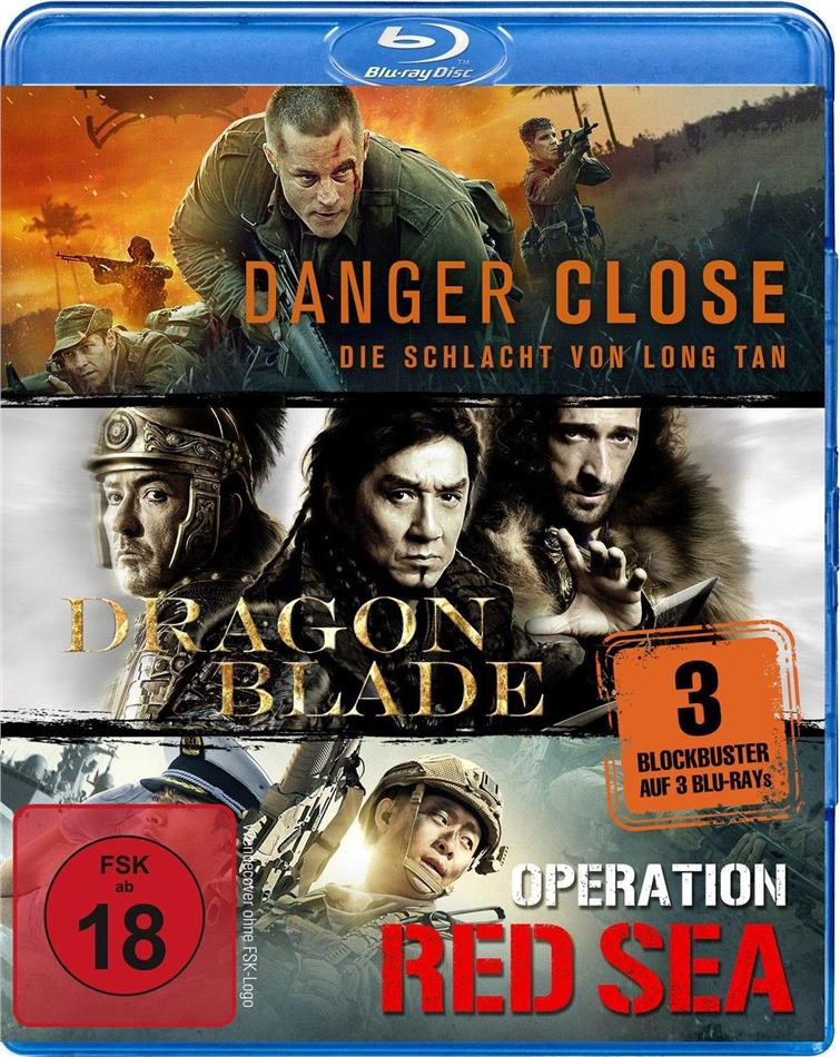 Danger Close / Dragon Blade / Operation Red Sea (3 Blu-rays)