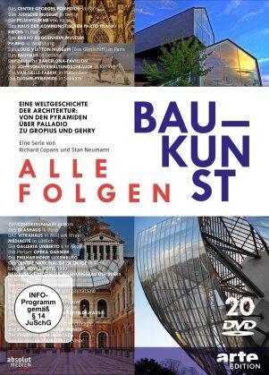 Baukunst - Alle Folgen - Eine Weltgeschichte der Architektur: Von den Pyramiden über Palladio zu Gropius und Gehry (Arte Edition, 20 DVDs)