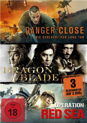 Danger Close / Dragon Blade / Operation Red Sea (3 DVDs)