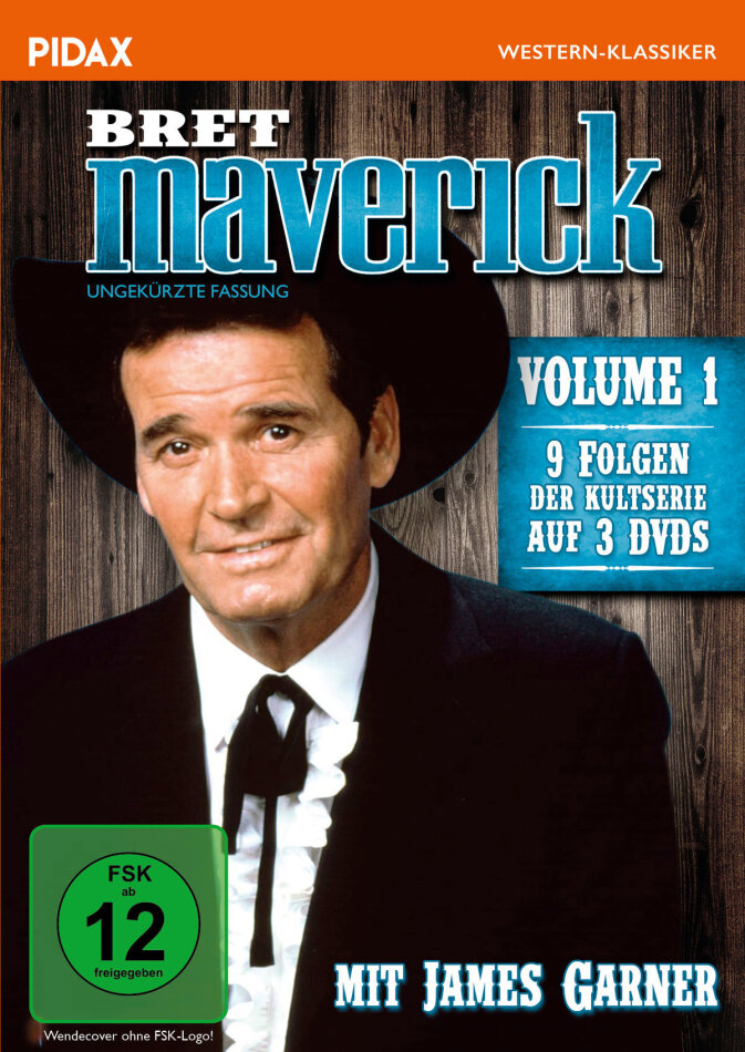 Bret Maverick - Vol. 1 (Pidax Western-Klassiker, Uncut, 3 DVDs)
