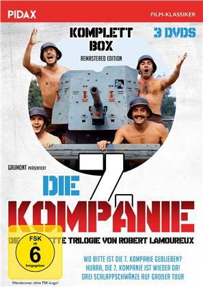 Die 7. Kompanie - Die komplette Trilogie (Pidax Film-Klassiker, Komplettbox, Remastered, 3 DVDs)
