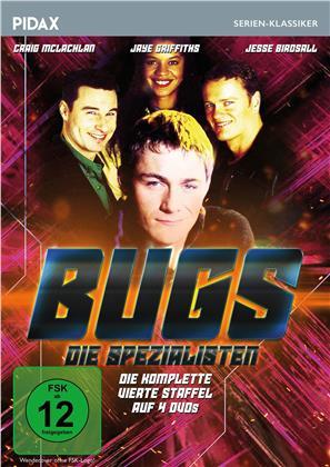 Bugs - Die Spezialisten - Staffel 4 (Pidax Serien-Klassiker, 4 DVDs)