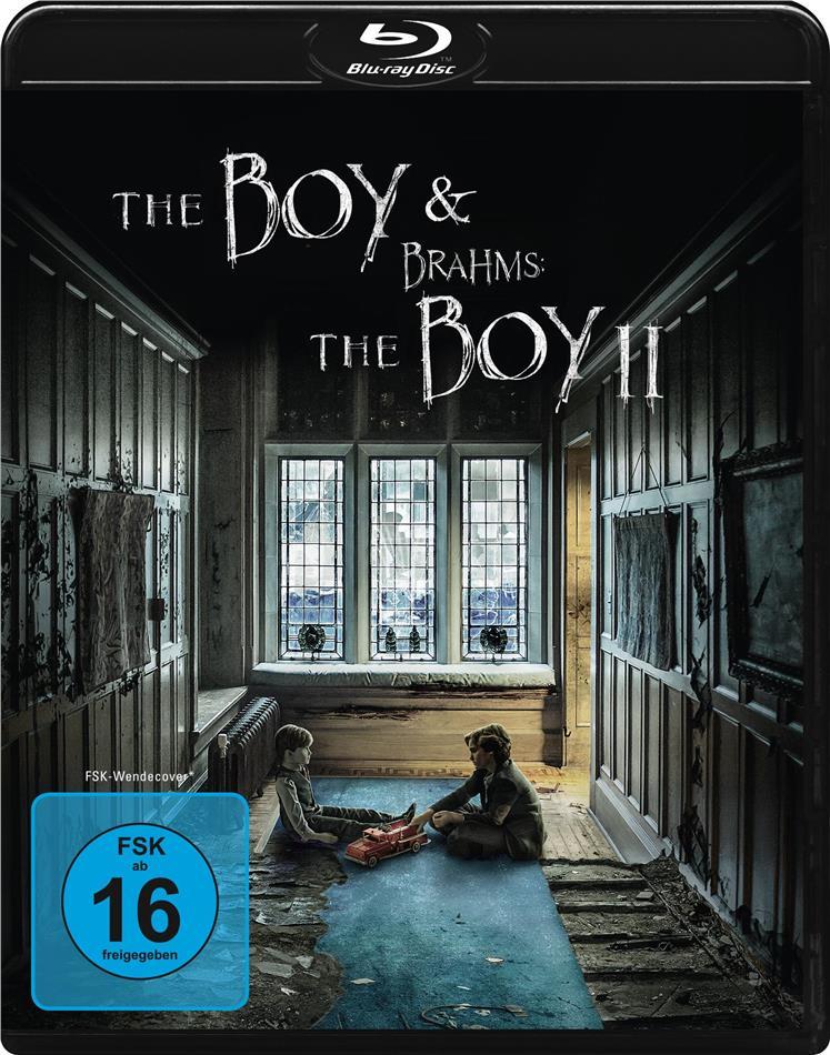 The Boy (2016) & Brahms: The Boy 2 (2020) (2 Blu-rays)