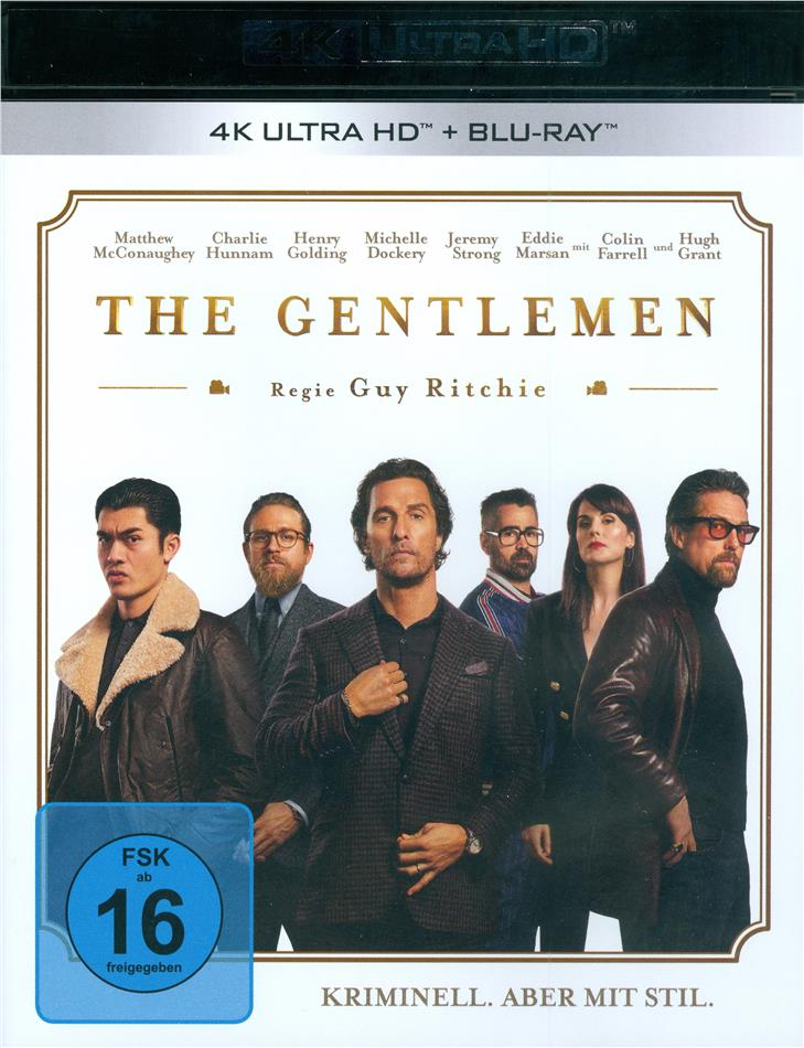 The Gentlemen (2019) (4K Ultra HD + Blu-ray)