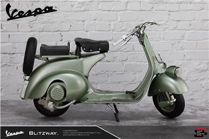 Blitzway - Roman Holiday: 1951 Vespa 125