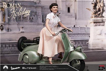 Blitzway - Roman Holiday: Princess Ann & 1951 Vespa 125