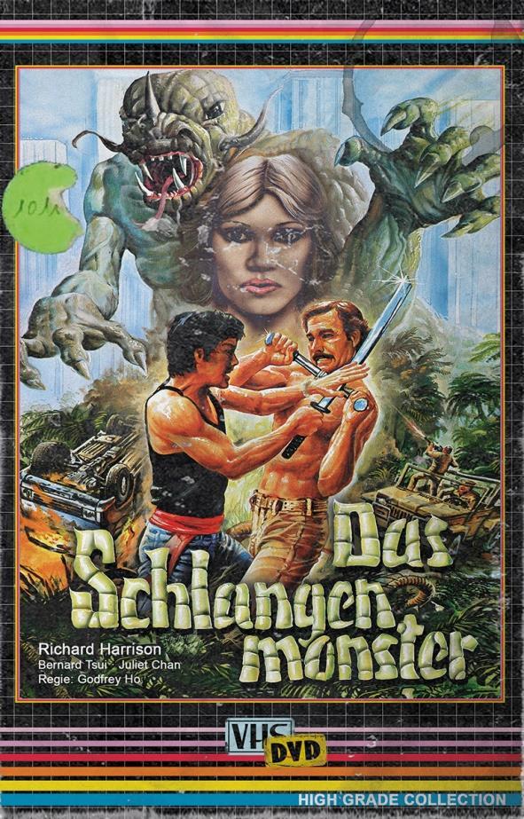 Das Schlangenmonster (1988) (Grosse Hartbox, High Grade Collection, Edizione Limitata, Uncut)