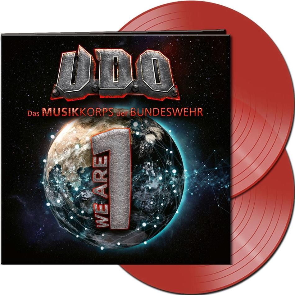 U.D.O. - We Are One (Gatefold, Limited Edition, Clear Red Vinyl, 2 LPs)