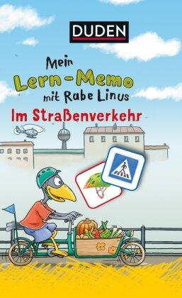 Mein Lern-Memo mit Rabe Linus: Im Straßenverkehr